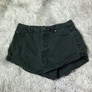 Ff21 Highwaist Polkadot Shorts